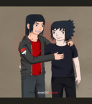 Always Brothers ~ naruto Shippuden by TheMuseumOfJeanette