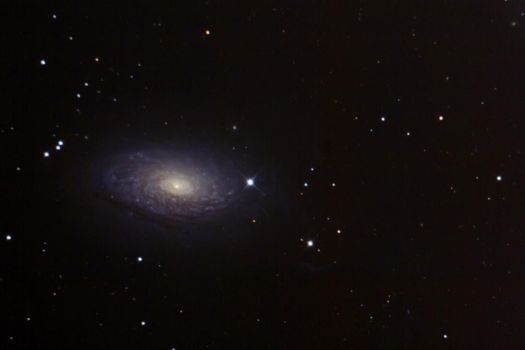 messier 63 by frenchbear