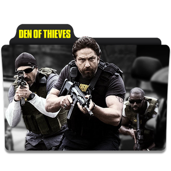 Den of Thieves 2018 Movie Folder Iocn by mohamed7799