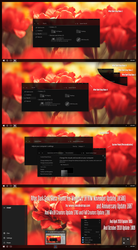 After Dark Gray Glass Theme Win10 1809 by Cleodesktop