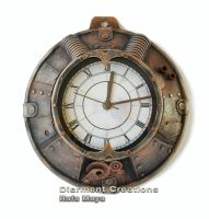 Steampunk Clock VII by Diarment