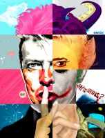 David bowie - Isrart collab by noapc