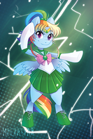 Rainbow Dash by Mochaspar