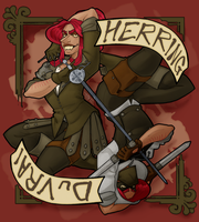 Herring DuVrai by The-Blue-Deviant-Fox