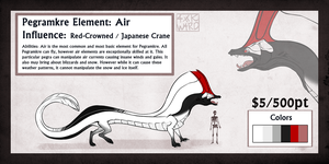 Pegra: Red Crowned Crane SOLD by Ahkward