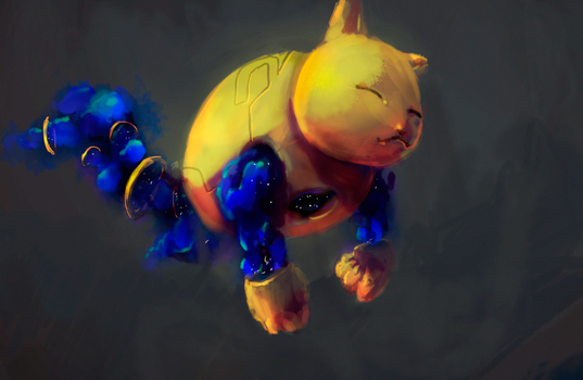 Galactic Cat by cpmilans