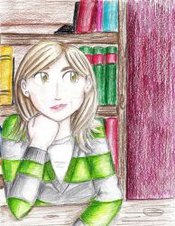 In the Library by veritane