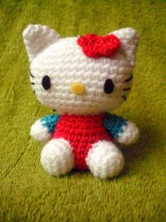 Hello Kitty keychain by Pachyblur