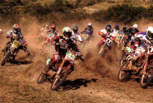 HDR - Motocross by riztwist