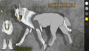 Reference Sheet: Mordecai by NightshadePro