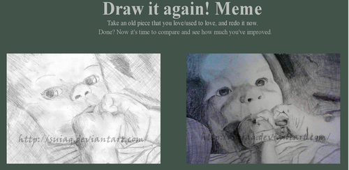 Draw it again: Baby by Suiag