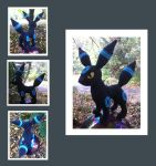 Shiny Umbreon Amigurumi by DarkWater9