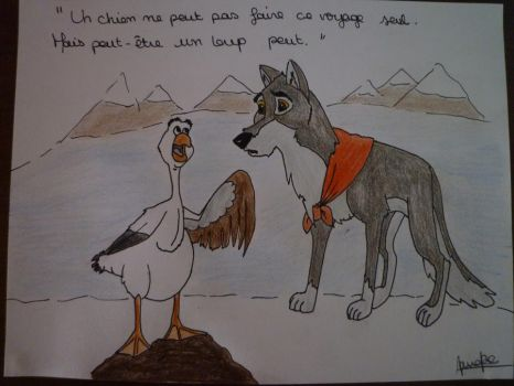 Maybe a wolf can by Maudpx