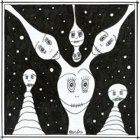 Bubblerians From Outer Space by selfregion