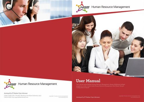User Manual Cover for HRM Product by dradesigner