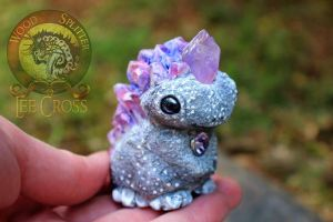 Sold, Real Baby Birthstone Dragon! by Wood-Splitter-Lee