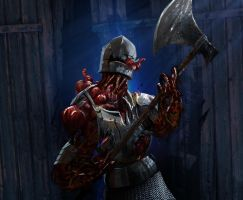 Infected knight by DanielClasquin