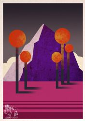 The Purple Mountain. by CupboardDweller