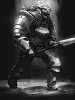 Commission - Steam Knight by L3monJuic3