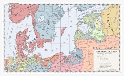 The Baltic, 1517 by Milites-Atterdag
