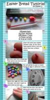 Easter Bread Tutorial by TheMiniatureBazaar