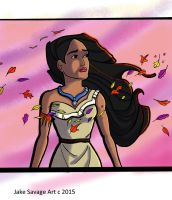 Pocahontas by Fires-storm