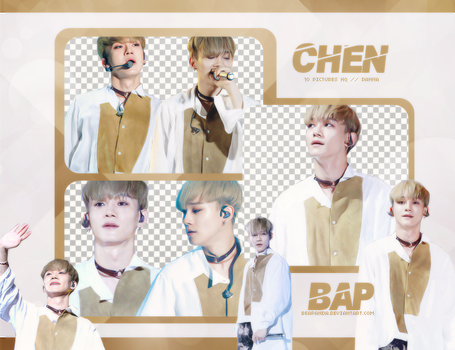 Pack Png 716 // Chen (EXO) by BEAPANDA