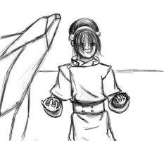Toph Beifong by sexy-physics-geek