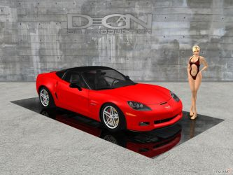 Chevrolet Corvette Z06 by DecanAndersen