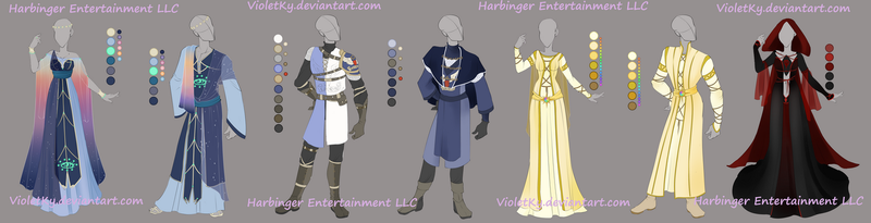 Outfit Set: Harbinger Entertainemet LLC by VioletKy