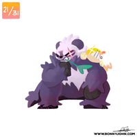 10/21 - Pangoro and Scraggy!