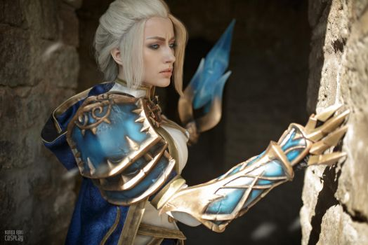 Jaina Proudmoore - Among the Ruins by Narga-Lifestream