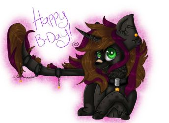 Happy B-Day!!~ by MoonBlood64