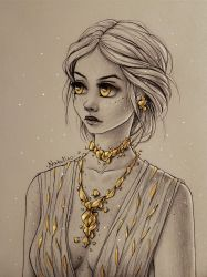 Golden girl by natalico