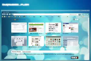 Turquoise Flow for Chrome by ES3