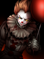 Pennywise by ReizDrawing