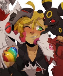 Gladion's Family by xNIR0x