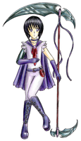 Sailor Male Saturn by sydchan
