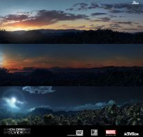 Wolverine_Jungle panoramas by JJasso