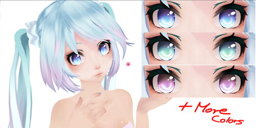 Eye Texture Pack (In different colors) Download~! by AyaneFoxey