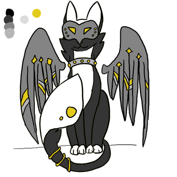 {OPEN}  OTA (offer to adopt) Death Angel by an0nym0usW01f