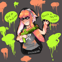 Youre A Kid Youre A Squid by Cheeseoritos