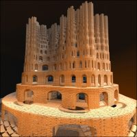 The Medieval Fractal by Aexion