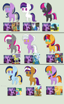 Twilight Sparkle adopts 6 (3/9 open) by Strawberry-T-Pony