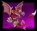 Smashified - Taylor the Tasmanian Devil (Ridley) by TaylorTrap622