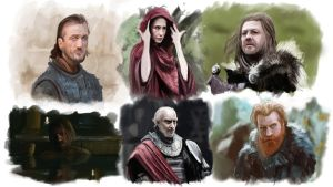 game of thrones by JulioDionizioArt