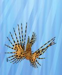 Stained Glass Lionfish by FauxHead