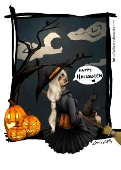 Belated Happy Halloween by Zeitz