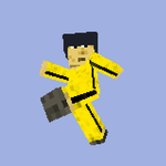 Bruce Lee Minecraft Skin by Vigorousjammer