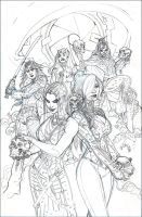 X-MEN #11 Cover Pencils by TerryDodson